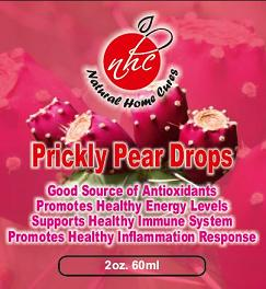 Prickly Pear Drops Label